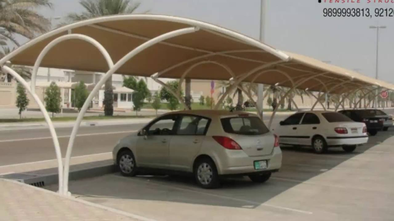 Vehicle Parking Shed Manufacturerssupplierscontractorsdelhiindia