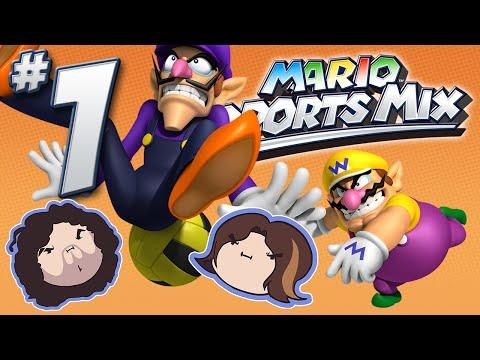 Mario Sports Mix: Dodge! - PART 1 - Game Grumps VS