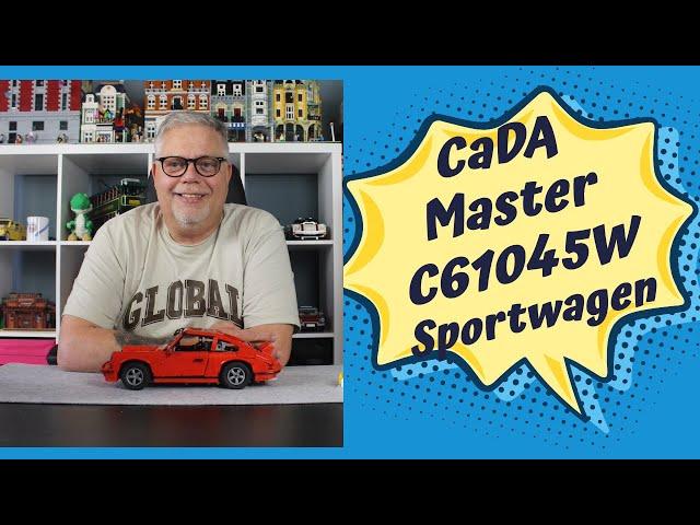 CaDa Master C61045W Sportwagen mit Fahrtest - Super Set mit hohen Spaßfaktor. Aber die Türen...