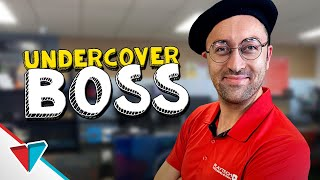 Worst disguise ever - Undercover boss