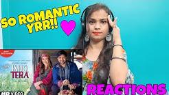 Girl reaction on ishq tera by guru randhawa