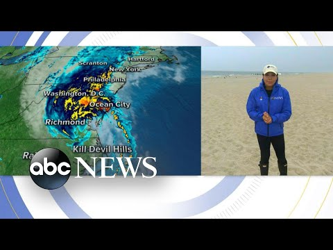 Jersey shore expects huge wind gusts from tropical storm Isaias l GMA