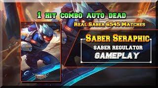Saber Mobile Legends [ Saber Seraphic ] Real Saber 6545 Matches