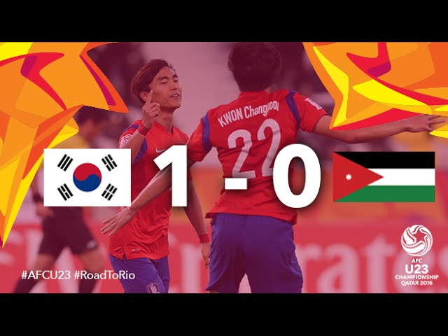 Video: U23 Hàn Quốc vs U23 Jordan
