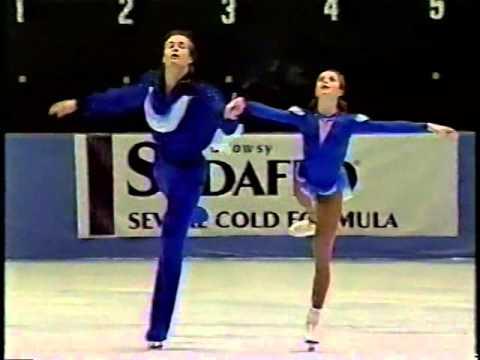 Elena Berezhnaya & Oleg Shliakhov LAT - 1995 Skate America LP