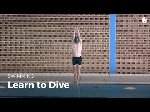 How to Dive into a Swimming Pool | Front Crawl