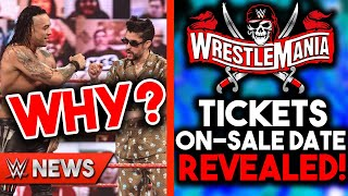 Why Bad Bunny Is Still In WWE! WrestleMania 37 Tickets On Sale NEXT WEEK?! - WWE News & Rumors!