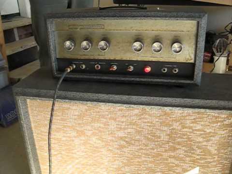 Sears Silvertone Amp - YouTube