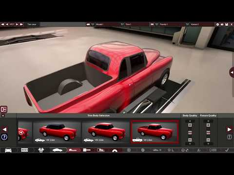 Building A 1950's Truck In Automation (the car company tycoon game)