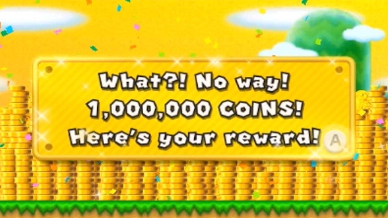 New Super Mario Bros  2 (3DS) - 1 Million Coins