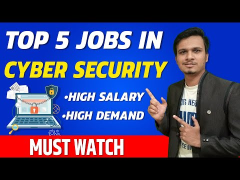 🔥 Top 5 cybersecurity careers – cyber security jobs in demand | cyber security in hindi
