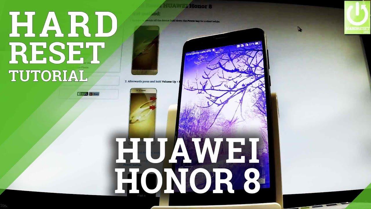 Hard Reset HUAWEI Honor 8 - HardReset info