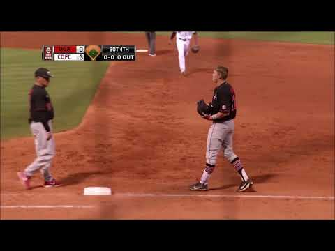 CofC Baseball vs Georgia - Highlights