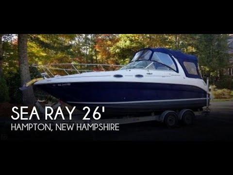 [UNAVAILABLE] Used 2004 Sea Ray 260 Sundancer in Hampton, New Hampshire