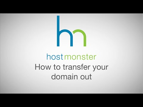 How to transfer your domain out of Hostmonster
