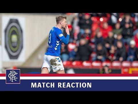 REACTION   Joe Worrall   Aberdeen 1-1 Rangers
