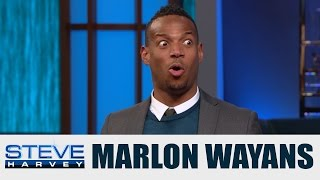 Marlon Wayans on Fifty Shades of Black || STEVE HARVEY