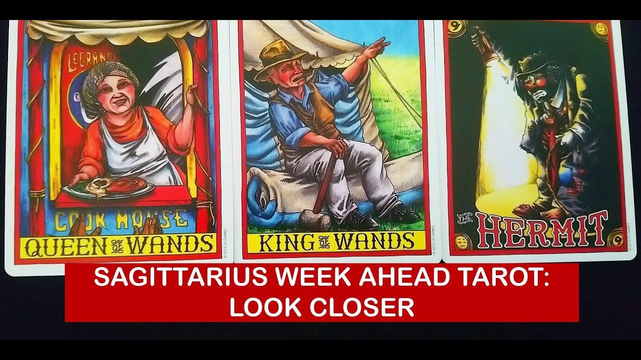 sagittarius weekly 3 to 9 love tarot