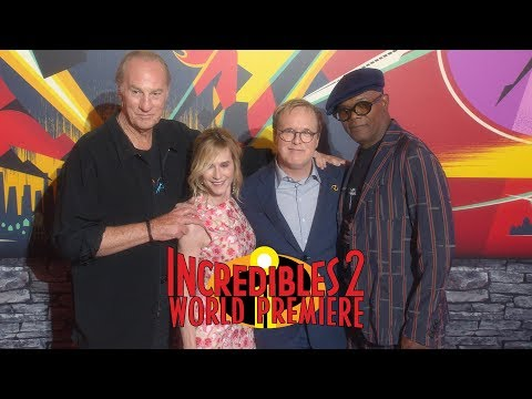'The Incredibles 2' World Premiere