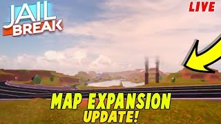 🔴ROBLOX JAILBREAK NEW MAP EXPANSION UPDATE!| COMING THIS WEEK| Roblox Live Stream🔴-Roadto10k