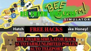 ROBLOX - (NEW!) BEE SWARM SIMULATOR HACK SCRIPT GUI,AUTO FARM,UNLIMITED POLLEN