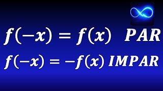 Función par e impar, definición, ejemplos, gráficas y simetrías. thumbnail