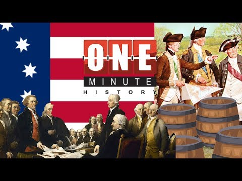 4th of July - History of American Independence Day - One Minute History
