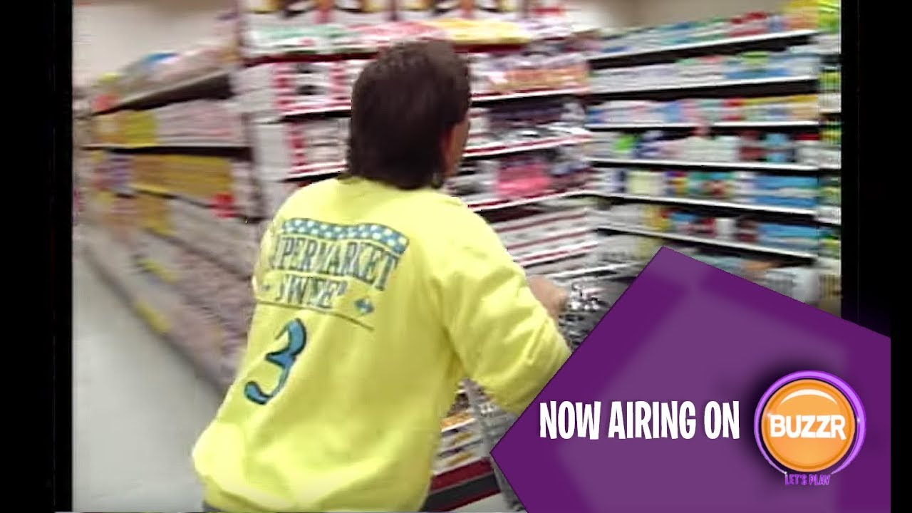 Going crazy on the Supermarket floor for the big sweep | Supermarket Sweep