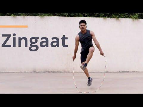 Zingaat | Sairat | Jump Rope Dance Video