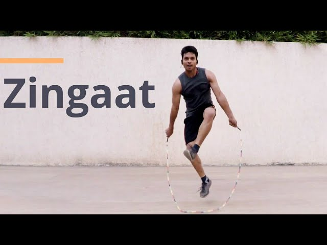 Zingaat | Sairat | Jump Rope Dance Video