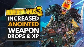 BORDERLANDS 3 | Increased ANOINTED WEAPONS & Mayhem XP - Anniversary Event