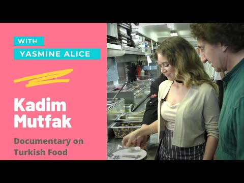 Turkish Cuisine with Yasmine Alice in London