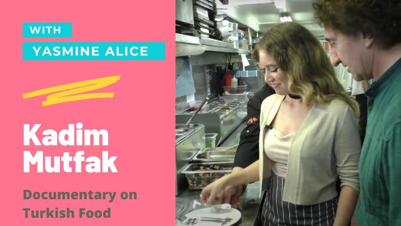 turkish cuisine with yasmine alice in london - youtube
