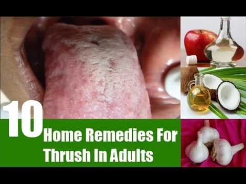 home remedy for thrush for adult