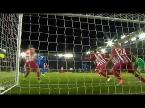 Leicester City vs Atletico Madrid 1-1 (agg 1-2) April 18th 2017 All Goals and Highlights!