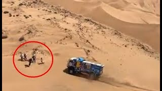 Rally Dakar 2019 - Best Fan Moments! Cars, Trucks, Motorcycles & Quads