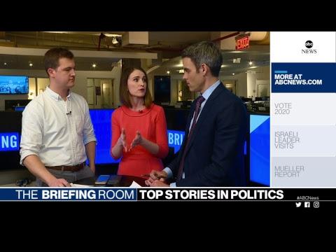 The Briefing Room: Mueller report, Netanyahu visits White House, 2020 hopeful Pete Buttigieg