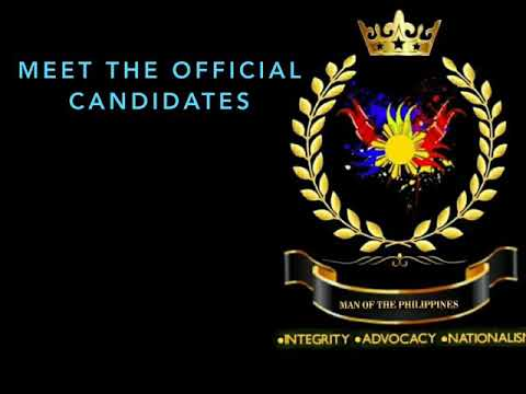 MEET | Man of the Philippines 2018 OFFICIAL CANDIDATES