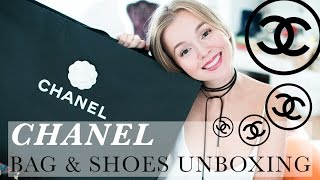 UNBOXING: СУМКА CHANEL 2.55 CLASSIC FLAP BAG,  история сумки, CHANEL CLASSIC BALLERINA FLATS