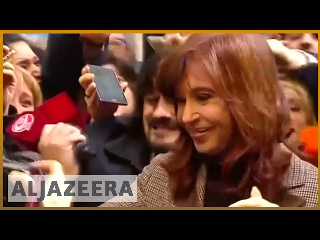 🇦🇷 Argentina ex-leader Kirchner appears in court over corruption    Al Jazeera English