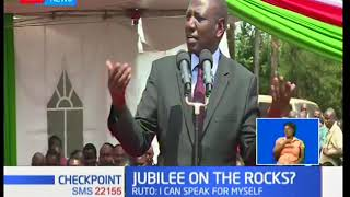 William Ruto dismisses disunity within Jubilee