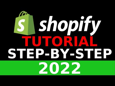 Shopify Tutorial For Beginners 2019 - Create A Shopify Store Step By Step thumbnail