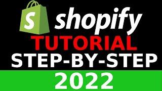 Adım 2019 Yeni Başlayanlar İçin Shopify Öğretici Oluşturmak Shopify Mağaza Bir Adım