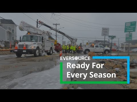 Eversource Says It's Ready For First Snowstorm Of The Year