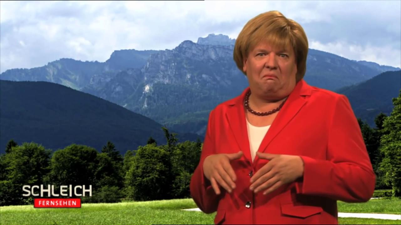 Merkel Verarsche