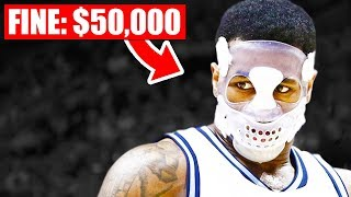 BANNED Masks In The NBA