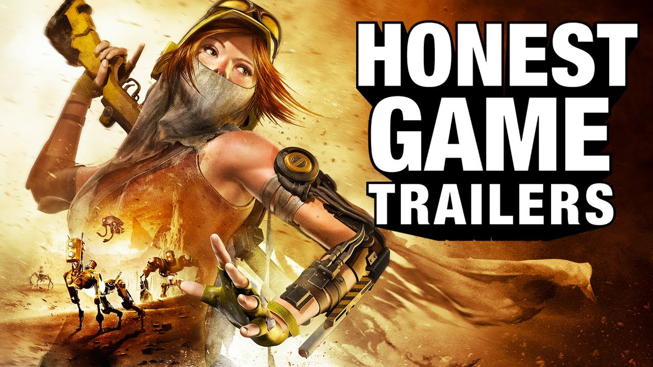 recore honest game trailers youtube