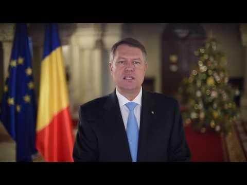 Mesajul de Anul Nou 2017 al președintelui Klaus Iohannis