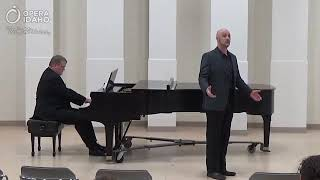 Detwiler sings...The Vagabond (Vaughan-Williams' Songs of Travel)
