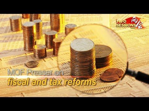 "Live: MOF Presser on fiscal and tax reforms财政部就""财税改革和财政工作""答记者问"
